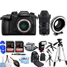 Panasonic DC-GH5 Micro 4/3 Camera Body W/ Sigma 18-35mm & Metabones Ultra 0.71x