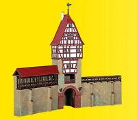 Kibri 38914 H0 Stadtmauer mit Fachwerkturm in Weil der Stadt