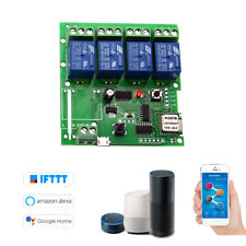 Sonoff Smart Remote Control Wireless Switch Universal Module 4ch DC 5V Wifi U8Q2