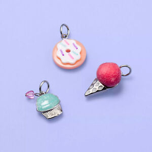 Girls' 3pk Assorted Charm Set - More Than Magic Target Exclusive Ice Cream Donut