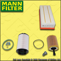 SERVICE KIT for VW GOLF MK5 (1K) 2.0 TDI MANN OIL AIR FUEL FILTERS (2004-2006)