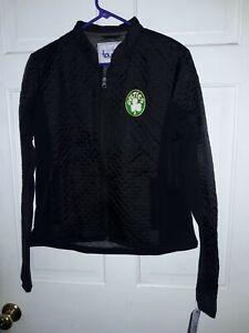 Boston Celtics basketball Jacket NBA  coat Touch by Alyssa Milano NEW Women's L
