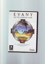 EVANY : KEY TO A DISTANT LAND - CRYSTAL 2 2004 ADVENTURE PC GAME - COMPLETE VGC
