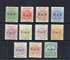 British Colony: The Transvaal 1900 Sg# 226/237, Scott# 202/213. Unused.