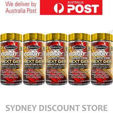 HYDROXYCUT HARDCORE NEXT GEN 150 CAPS x 5 BOTTLES NEW