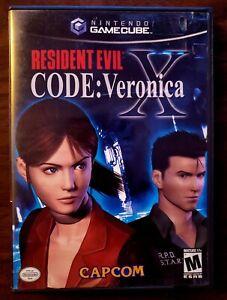 Resident Evil -- CODE: Veronica X (Nintendo GameCube, 2003)
