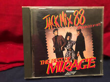 Vintage- Jack Mix 88 CD- The Best of Mirage- 88 Non Stop Hits!
