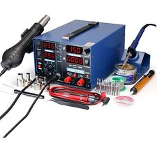 Hot Air Rework Station Soldering Iron Station Smd Digital Solder Professional Ki