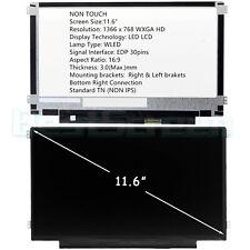 "New listing New 11.6"" B116Xtn02.3 Led Lcd Screen 1366x768 Wxga Hd Matte"