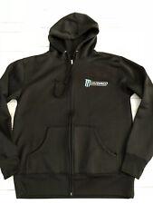 Monster Energy HYDRO Zip Up Hoody Sweatshirt  Medium Excellent!!