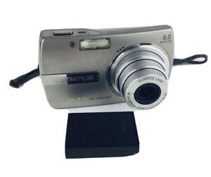 Olympus Stylus 810 8.0MP Digital Camera - Silver