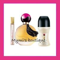 Lote AHORA AWAY Avon : eau perfume 50ml + wd . + mini frasco de bolas 9ml
