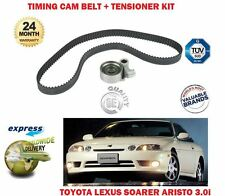 FOR TOYOTA ARISTO SOARER 3.0i TWIN TURBO 1991-> TIMING CAM BELT + TENSIONER KIT