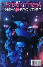 Star Trek New Frontier #5 comic book TV show series Shelby Jellico Peter David
