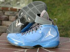 "2012 Nike Air Jordan Deluxe University Blue ""UNC""  484654-400 SIZE 9.5"