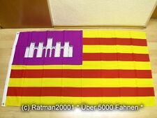 Fahnen Flagge Spanien Balearen - 90 x 150 cm