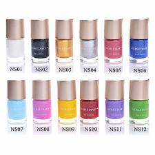 13 Colors Stamp Template Stamping Nail Polish Lot Special Polish Varnish Set
