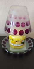 Yankee Small Glass Shade & Candle Set