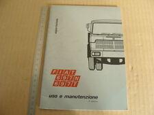 MANUALE USO MANUTENZIONE FIAT AUTOCARRO 697N 697T ESPORTAZIONE TORINO 1971 ITALY