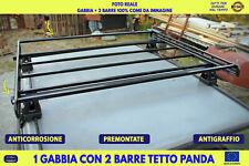 Barre portatutto Fiat Panda 141 141 A Gabbia Portabagagli per tetto portapacchi