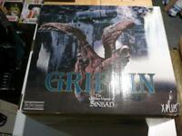 Griffin Harryhausen X-Plus Limited Edition Resin Golden Voyage Sinbad Statue