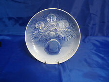 "Vtg Bing & Grondahl Christmas 9"" Plate ""Happiness Over The Yule Tree"""
