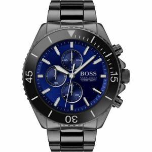 Hugo Boss Ocean Edition Herrenchronograph Armbanduhr HB1513743 Neu mit Box