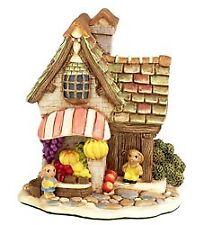 Pendelfin Village Mini Fruit Shop Stoneware Nib Rabbit Town 5028743338001