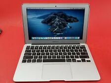 "Apple MacBook Air Core i5 1.7GHz 4GB RAM 64GB SSD 11"" A1465 - Catalina"