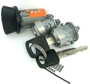 Ford Ignition Key Switch Lock Cylinder & Door Pair Tumbler Barrel Set 3 Keys