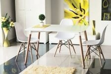 Holztisch Tisch Esstisch Esszimmertisch Küchentisch 120x80 Matt Weiss