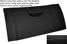 BLACK Stitch PORTAOGG COPERCHIO cuoio pelle copertura ADATTA PER CHRYSLER 300C CRD 2006-2011