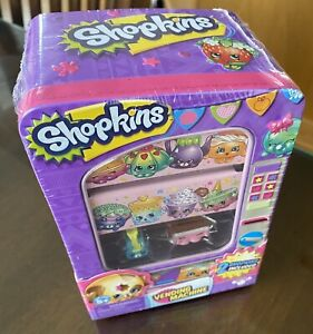 """Shopkins Vending Machine 2 Exclusive 2 Pack 6-7"""" storage tin accessory style #2"""