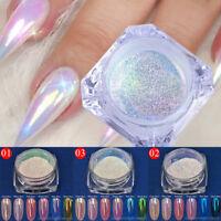 Nail Powder Unicorn Mermaid Mirror Pigment Glitter Dust DIY Nail Art Accessories