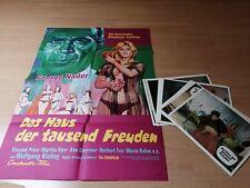 Kinoplakat + 18 AHF : Das Haus der tausend Freuden .Z 0-1