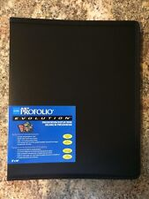 Itoya Evolution Portfolio book bound album, photos up to 8x10, black