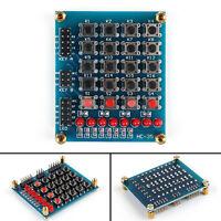 8LED Push Button Matrix Keypad 16 Key Switch Keyboard Pour  AVR ARM