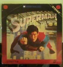 laserdisc LD   SUPERMAN  THE MOVIE  laserdisc LD