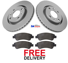 FOR PEUGEOT 1007 207 208 307 2008 (05-15) FRONT BRAKE DISCS & PADS SET *NEW*