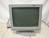 Atari STE QC-1438s Computer Monitor Monochrome Display  For Parts Or Repairs