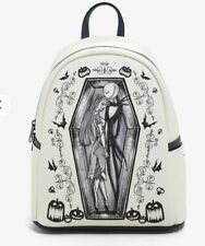 Loungefly Disney Nightmare Before Christmas Mini Backpack Jack Sally New W/ Tags