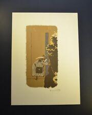 "Pierre Bonnard, Original Hand Signed Lithograph, ""Dans la Rue"", with COA"