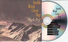 MARK FRY South Wind Clear Sky 2014 UK 8-trk promo test CD