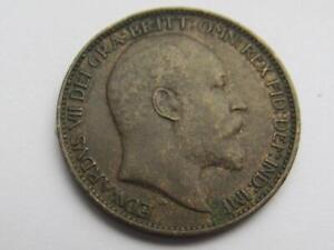 Edward VII Farthing 1902 - Good collectable coin