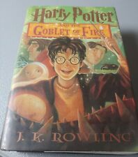 Harry Potter and the Goblet of Fire by J. K. Rowling (2003, Hardcover)