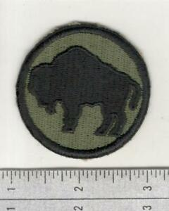 Get This Patch Free WW 2 US Army 92nd Infantry Division Patch Inv# W803