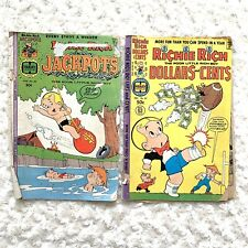 Richie Rich Comic Books Condor Feather Treasure Of Isla Rica 30 83 Jackpots Cent