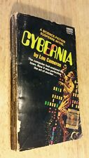 Cybernia Science Fiction Suspense Novel by Lou Cameron Vintage 1972 PB