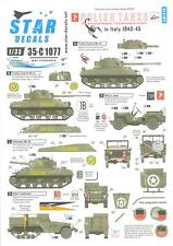 Star Decals 1/35 POLISH TANKS IN ITALY 2nd Armoured Brigade 2nd Warsaw Division
