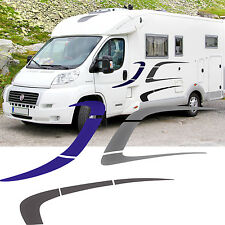 Motorhome Stripes Vinyl Stickers - Camper Van Horsebox Caravan RV Decals Graphic